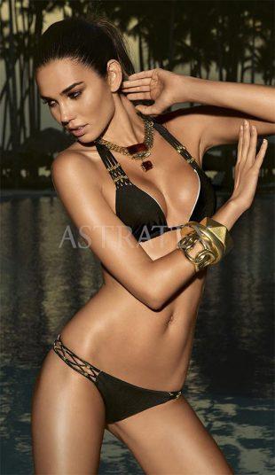 Dámské luxusní dvoudílné plavky brazilky Astratex Diamond