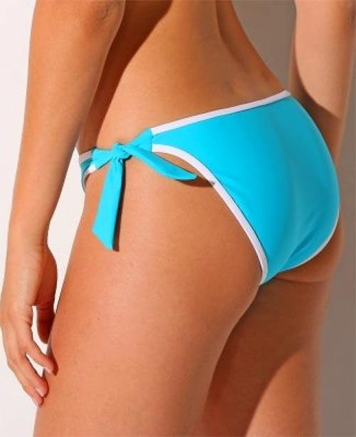 Tyrkysově modré dámské plavky