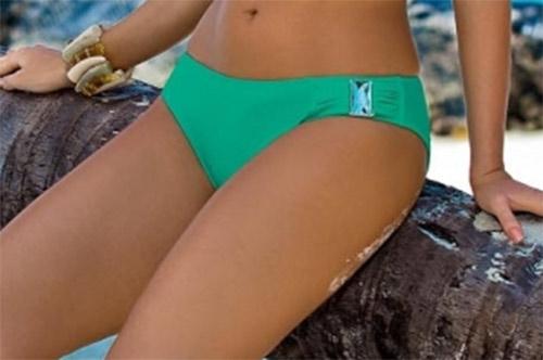 Dámské plavky Ashley zelené