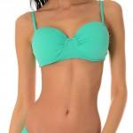Stylové dvojdílné plavky Luisa jsou vhodné pro větší poprsí