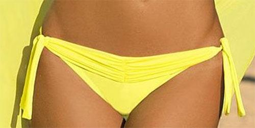 Žluté dámské dvoudílné plavky Marko Liza Brazilian bikiny