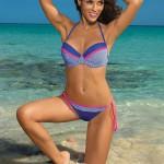 Modro-růžové dvoudílné plavky Marko Wendy Oltremare