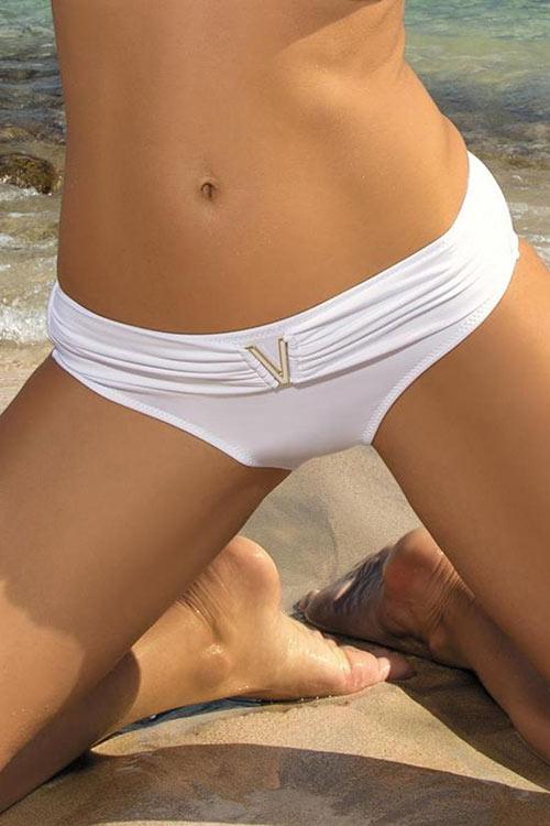 Bílé sexy plavky