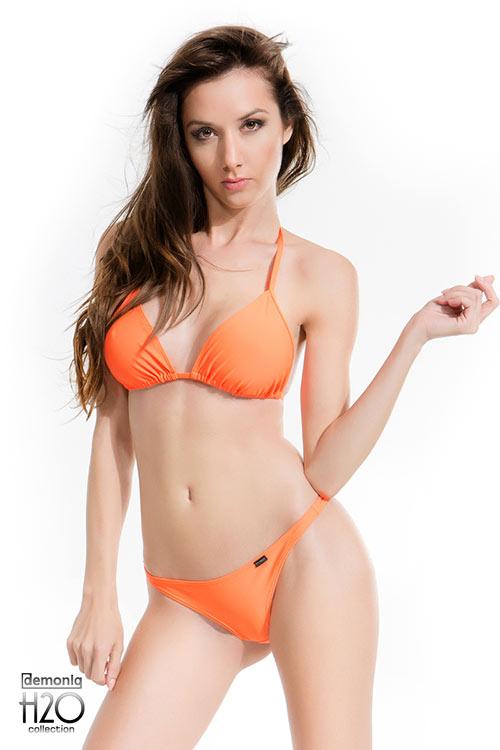 Oranžové dvoudílné plavky