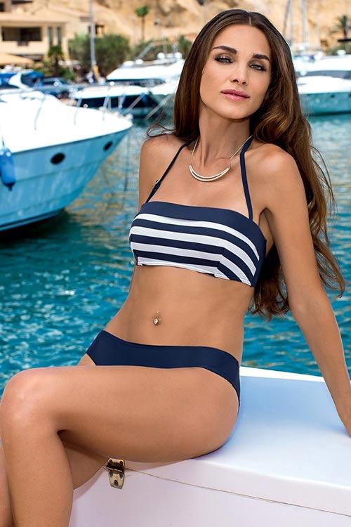 Bardot námořnické dvoudílné plavky Samanta