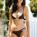 Levné dvoudílné plavky Lorin Marietta s polstrovanými košíčky