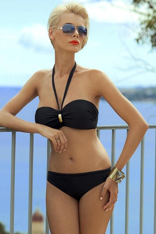 Sexy dvoudílné plavky bez ramínek Ewlon Majorka
