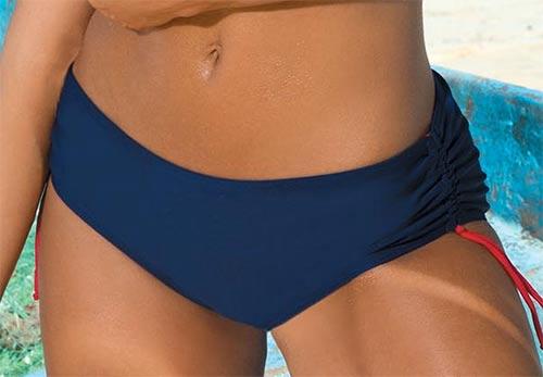 Plavkové kalhotky pro boubelky