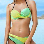 Sportovní dvoudílné plavky Ewlon Luna s vyztuženými košíčky