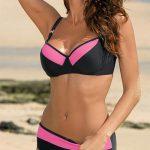 Plavky s vyššími kalhotkami Marko Nancy - ideální pro větší prsa