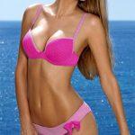 Dvoudílné plavky sportovního střihu Lorin Mira