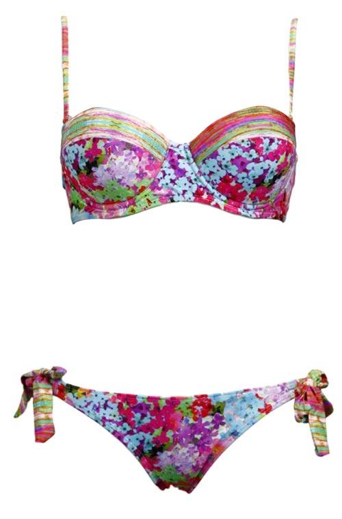 ... KO16 033133060-720 - Relleciga Pestrobarevné dámské dvoudílné plavky ... 67b7e4e2cd