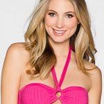 Růžová plavková bandau podprsenka nositelná i bez ramínka