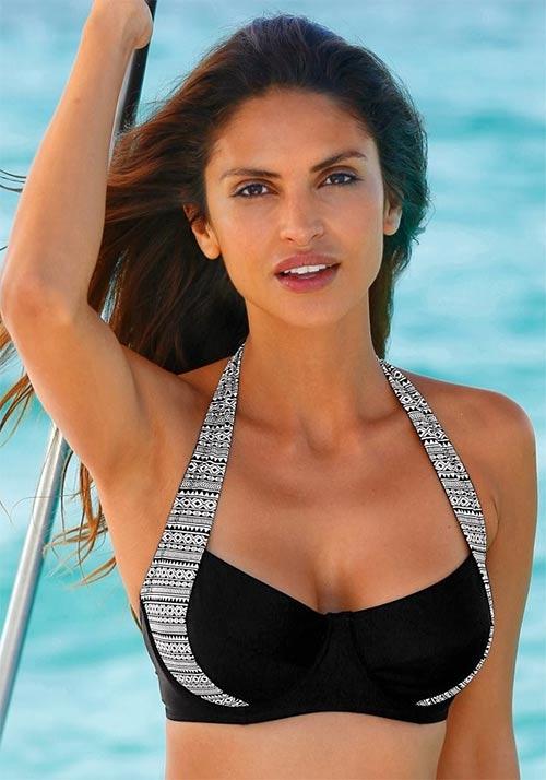 Sportovní plavková podprsenka glamour trendy vzhledu