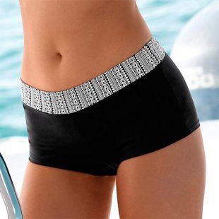 Francouzské plavkové boxerky s efektem plochého bříška