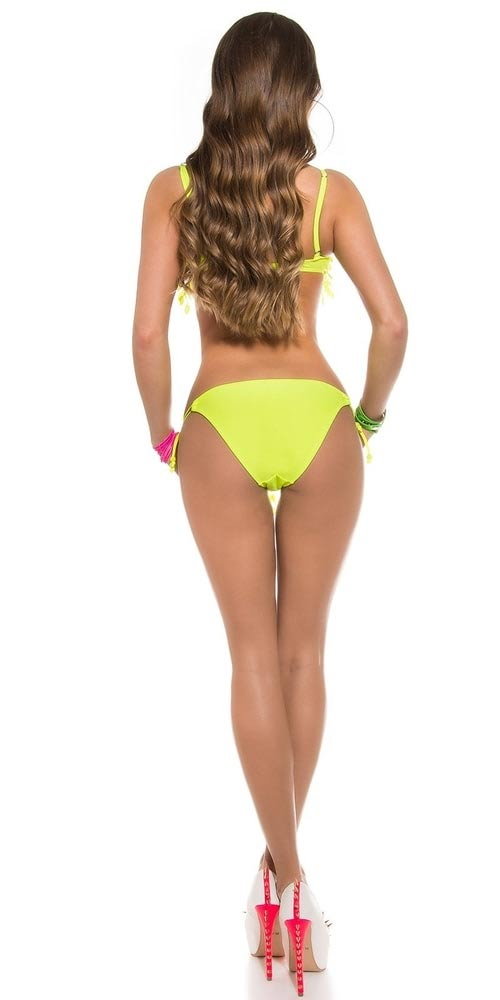 Žluté plavky neonky