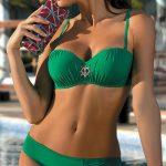Dvoudílné plavky Marko Edith s push-up bardot košíčky