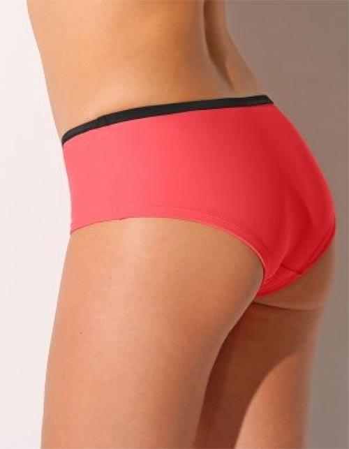Růžové plavky boxerky