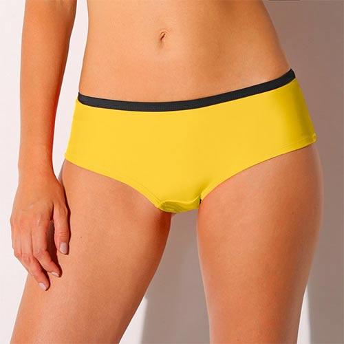 Žluté dámské plavky