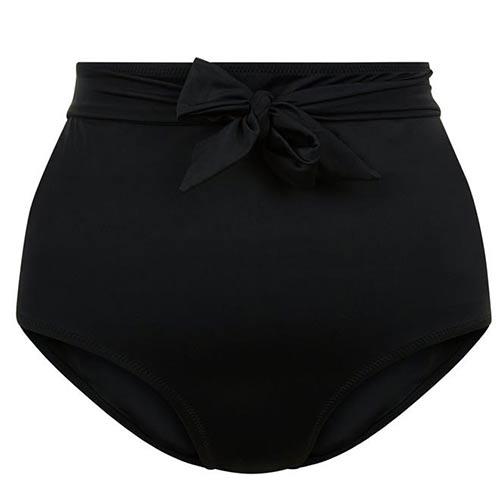 Černé retro plavky