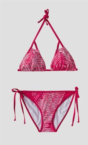Růžové dámské dvoudílné plavky Puma