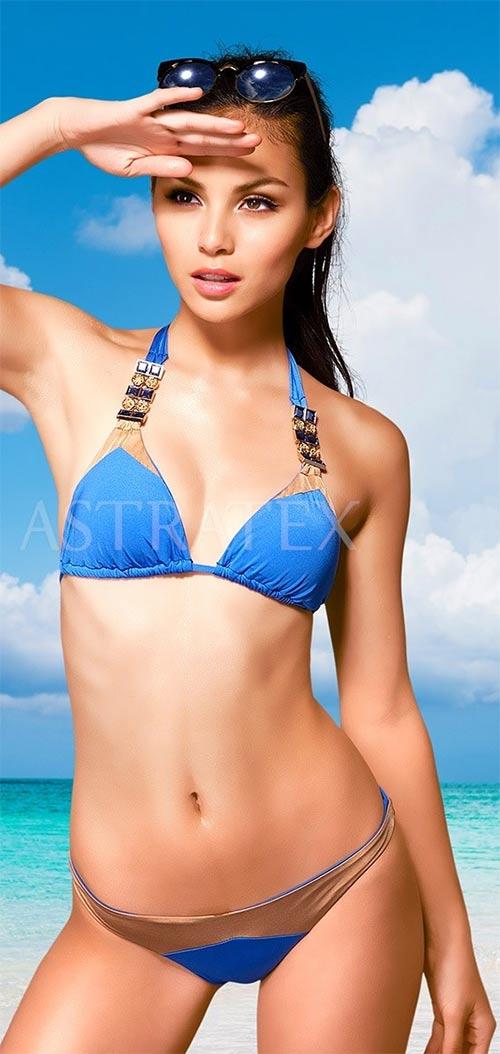 Dvoudílné dámské plavky Vacanze s luxusními detaily