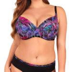 Dvoudílné dámské plavky vhodné pro velká prsa Lupoline Iris