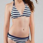 Námořnické trojúhelníkové bikini
