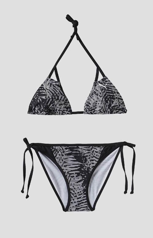 Černobílé dvoudílné plavky Puma