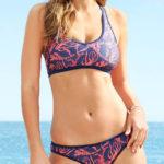 Sportovní plavky s podprsenkovým topem
