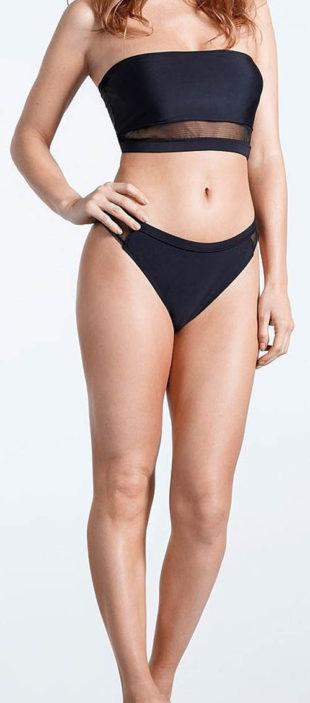 Jednoduché bandeau dámské plavky