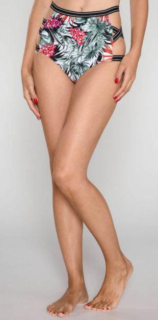Vysoké plavkové kalhotky Guess se sexy průstřihy