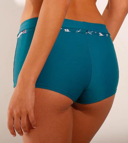 Stahovací plavkové boxerky pro plnější tvary