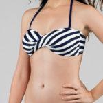 Námořnické bandeau plavky Dorina