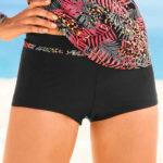 Jednobarevné dámské plavkové boxerky Manso