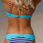 Moderní push-up plavky s brazilskými kalhotkami