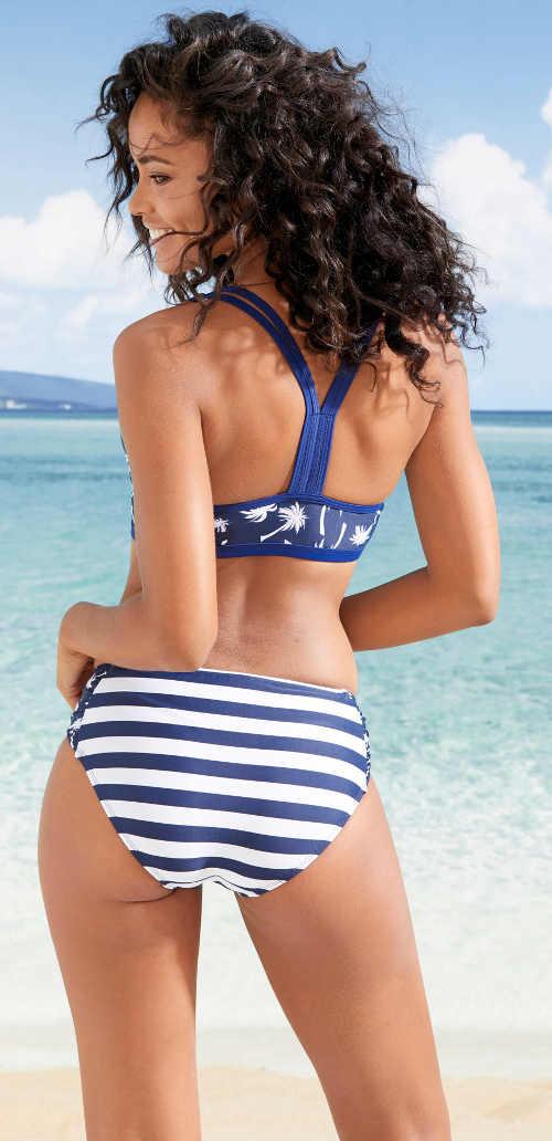 Sportovní řešení ramínek plavek