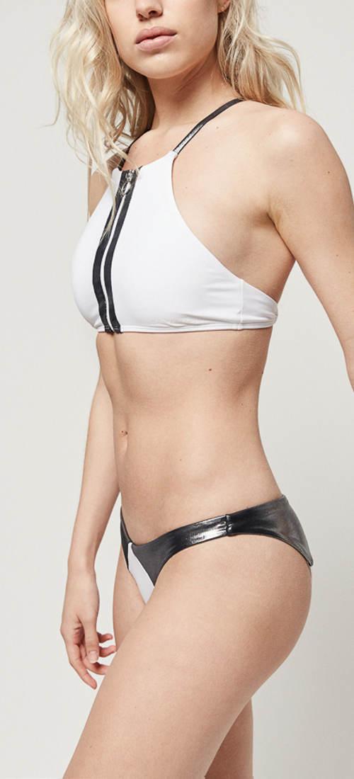 Černobílé sportovní dámské plavky O´Neill