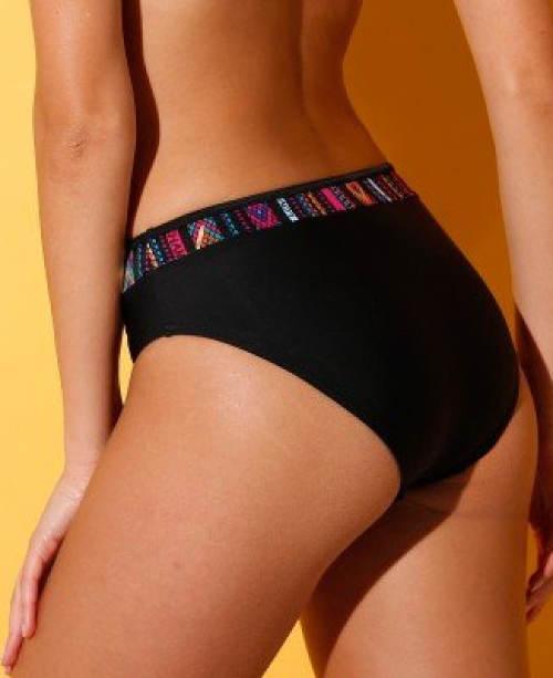Černé  plavkové kalhotky Blancheporte