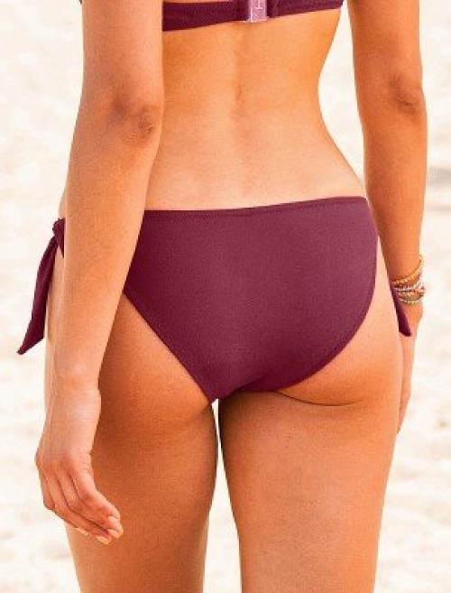 Levné fialové dvoudílné plavky Blancheporte