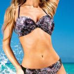 Výprodejové dámské dvoudílné plavky Dorina Barcelona