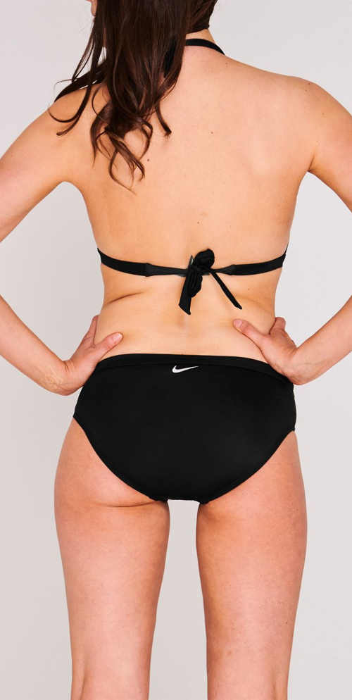 Černé dámské bikiny Nike