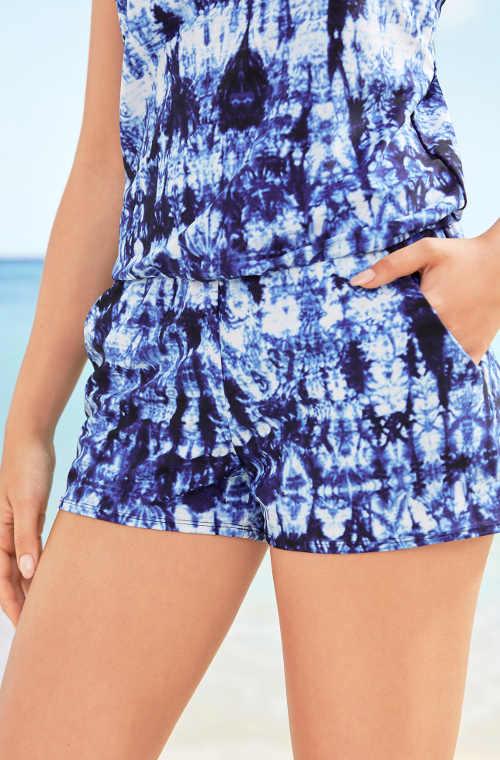 Batikované plavky pro těhotné