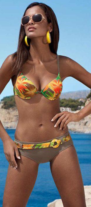 Dámské plavky Lorin Aurelia s vyztuženými košíčky modelujícími poprsí