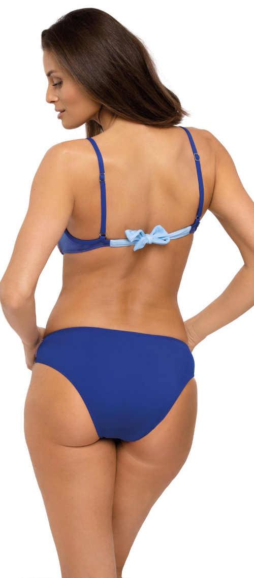 Modré dvoudílné plavky s mašličkou Marko Marita