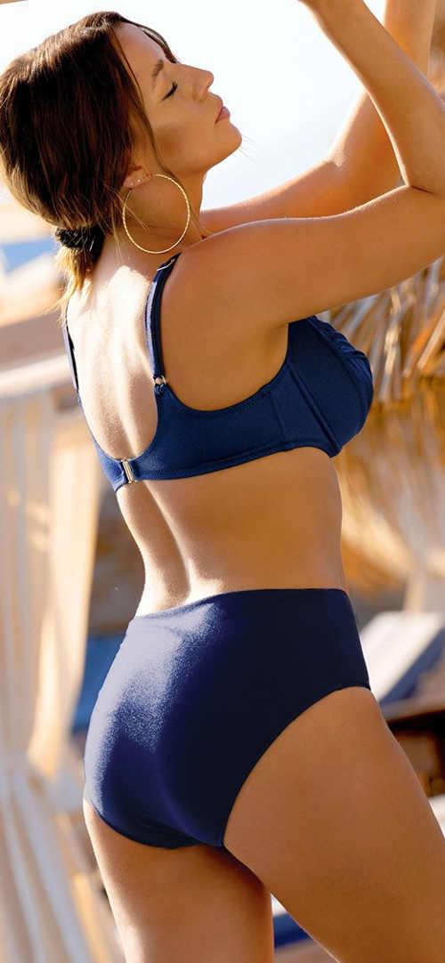 Dvoudílné plavky pro plnoštíhlé výprodej