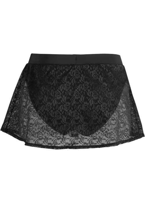 dámská koupací sukně s krajkou