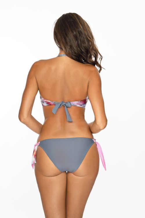 dámské moderní barevné dvoudílné plavky