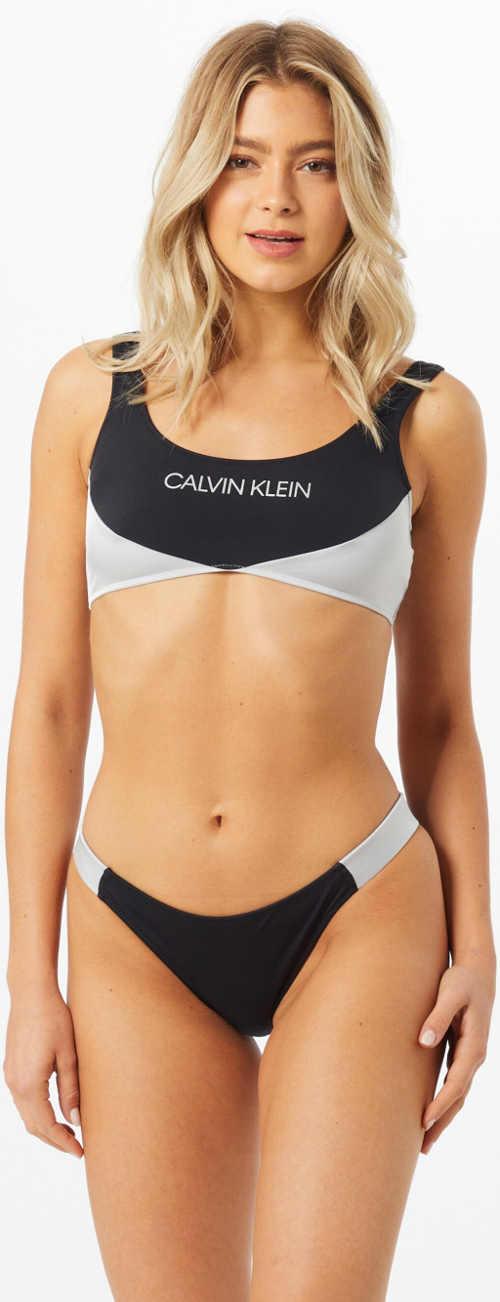Značkové dámské sportovní plavky Calvin Klein