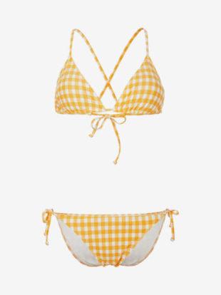 Dvoudílné plavky O'Neill v moderním kostkovaném vzoru